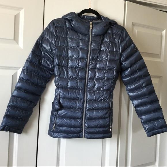 fa3ec97f3 Calvin Klein Packable Down Puffer Coat,size M NWT NWT